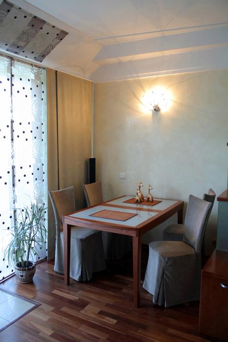 Квартира. столовая из проекта , фото №16898