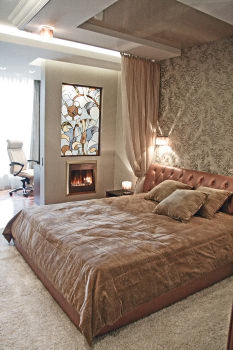 Квартира. спальня из проекта , фото №16876