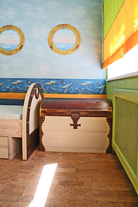 Квартира. детская из проекта , фото №16891