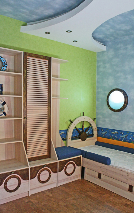 Квартира. детская из проекта , фото №16892