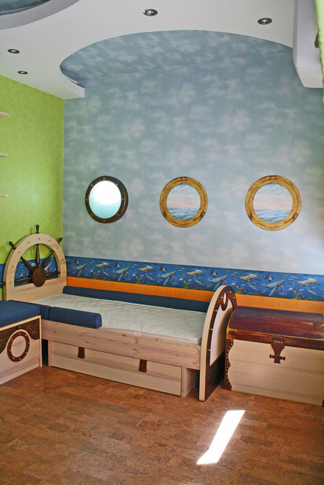 Квартира. детская из проекта , фото №16893