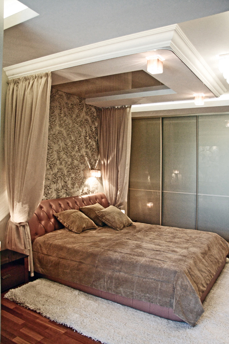 Квартира. спальня из проекта , фото №16877