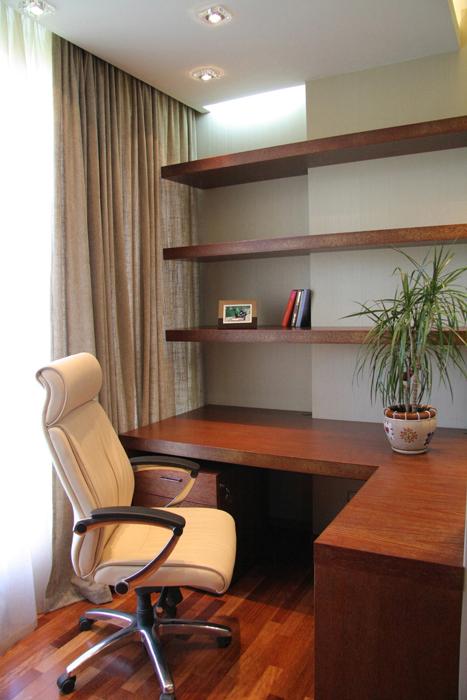 Квартира. кабинет из проекта , фото №16899