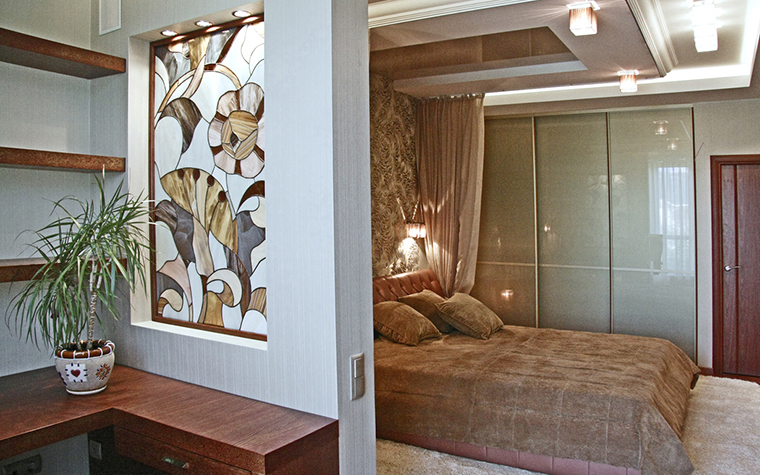 Квартира. спальня из проекта , фото №16878