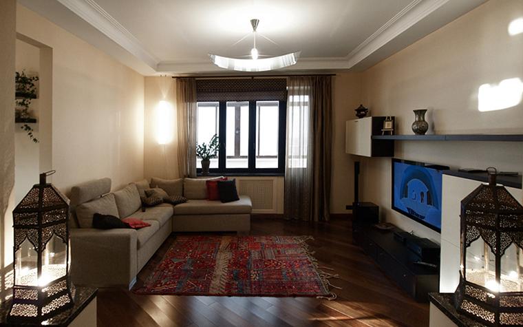 интерьер гостиной - фото № 17203