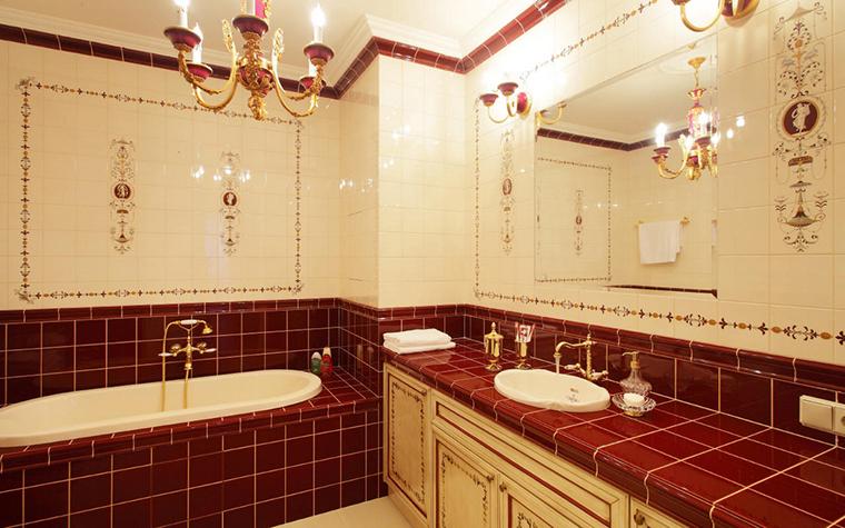 Квартира. ванная из проекта , фото №17218