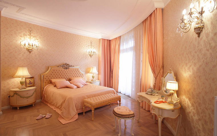 Квартира. спальня из проекта , фото №17222