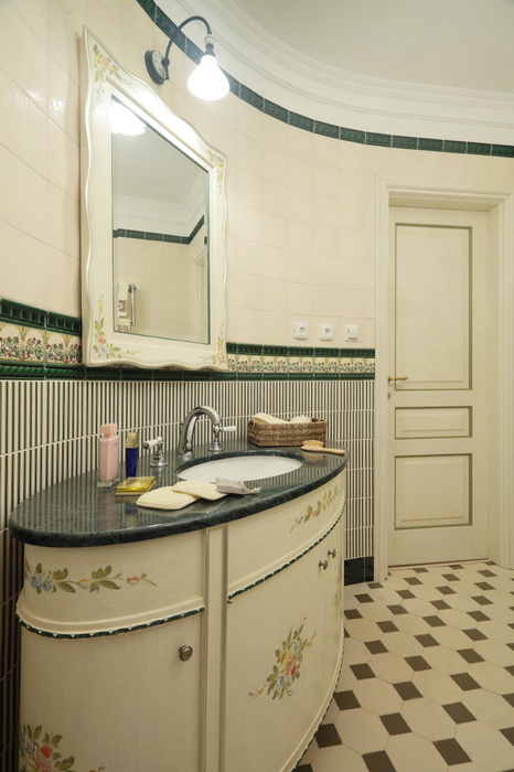 Квартира. ванная из проекта , фото №17229