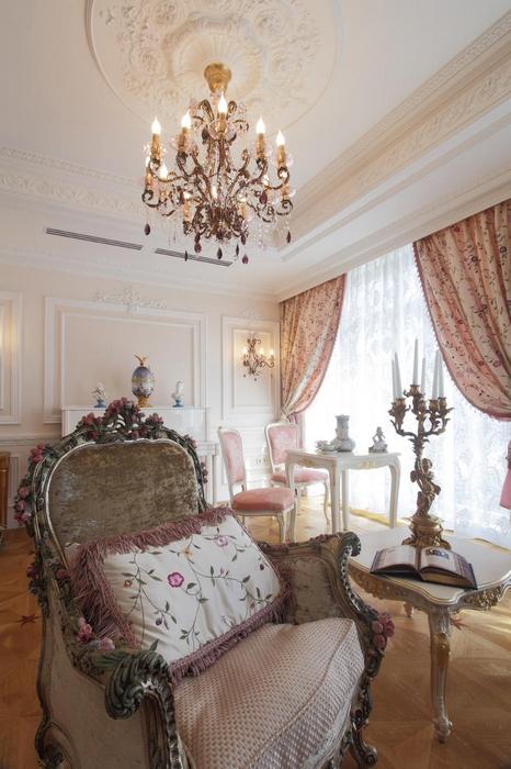 Квартира. гостиная из проекта , фото №17230