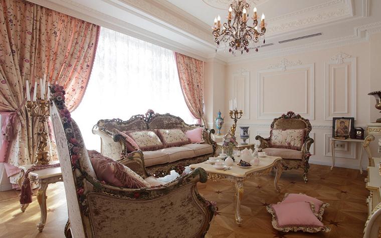 Квартира. гостиная из проекта , фото №17232