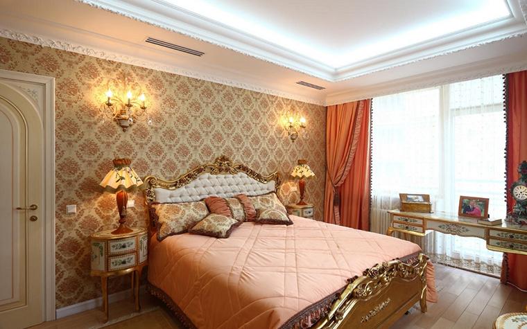 интерьер спальни - фото № 17233