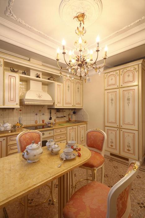 Квартира. кухня из проекта , фото №17235