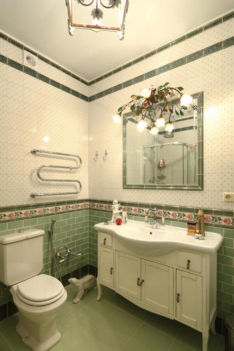 Квартира. ванная из проекта , фото №17238