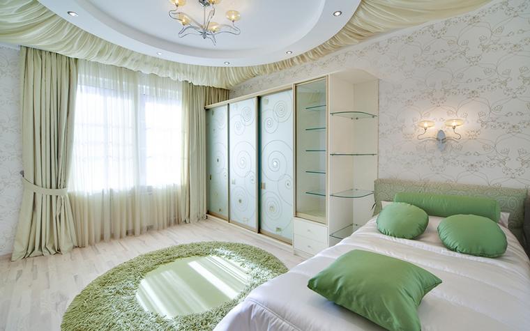 Квартира. спальня из проекта , фото №17295