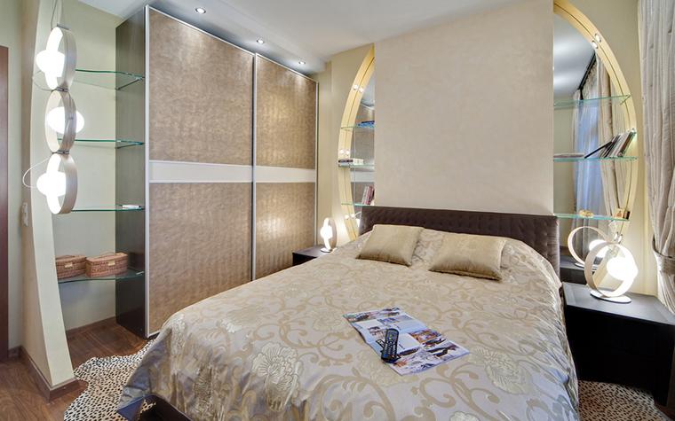 Квартира. спальня из проекта , фото №17296