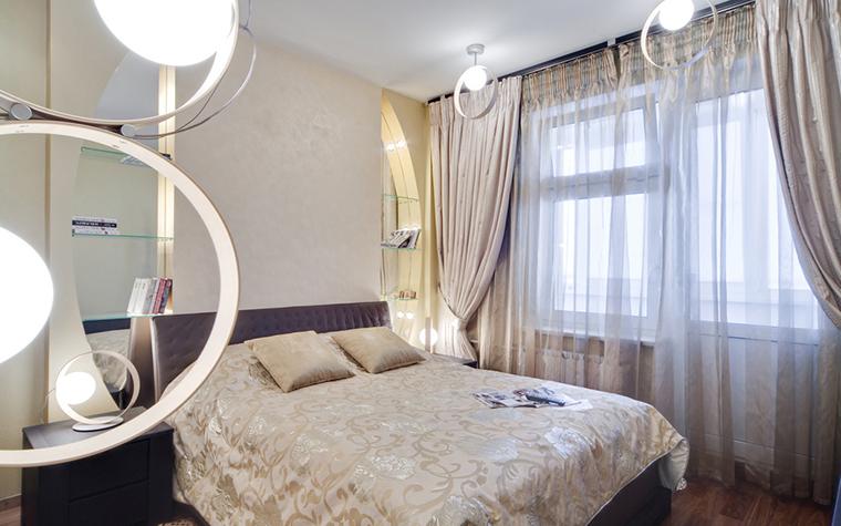Квартира. спальня из проекта , фото №17297