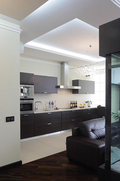 Квартира. кухня из проекта , фото №17306