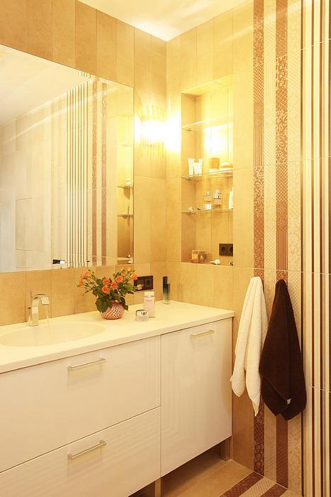 Квартира. ванная из проекта , фото №17310