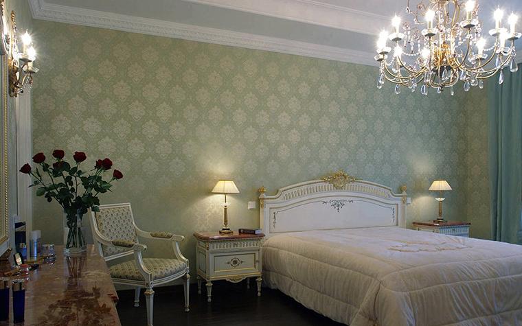интерьер спальни - фото № 17311