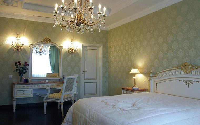 интерьер спальни - фото № 17312