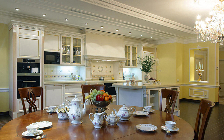 Квартира. кухня из проекта , фото №17314