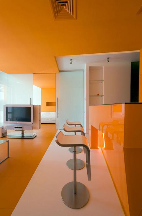 Квартира. гостиная из проекта , фото №17320