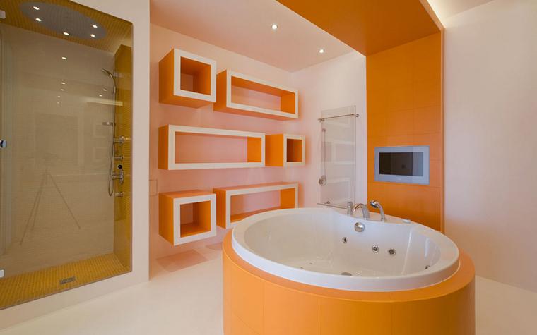 Квартира. ванная из проекта , фото №17332