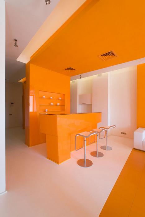 Квартира. гостиная из проекта , фото №17322