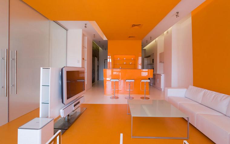 Квартира. гостиная из проекта , фото №17323