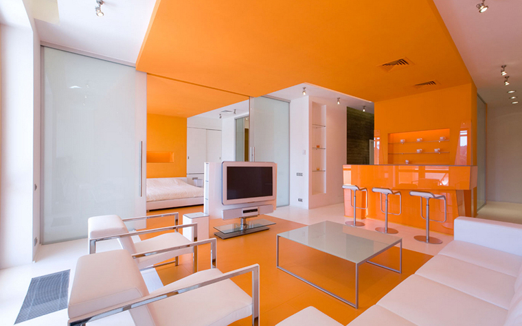 Квартира. гостиная из проекта , фото №17324
