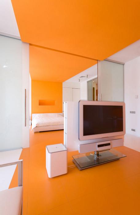 Квартира. гостиная из проекта , фото №17326