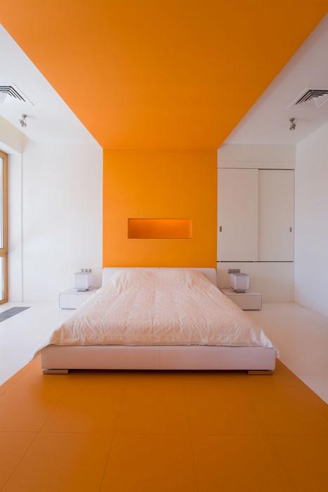интерьер спальни - фото № 17328