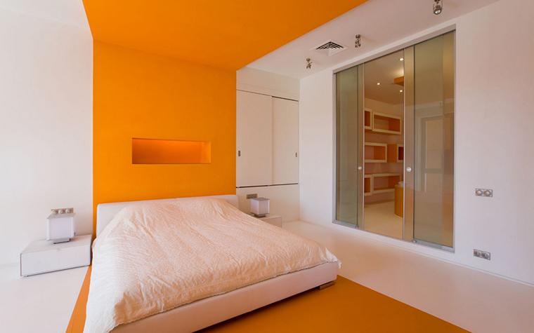 интерьер спальни - фото № 17329