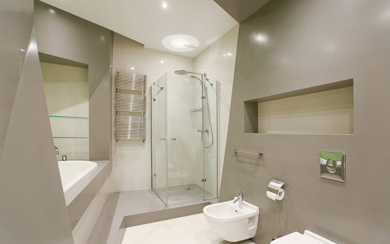 Квартира. ванная из проекта , фото №17361