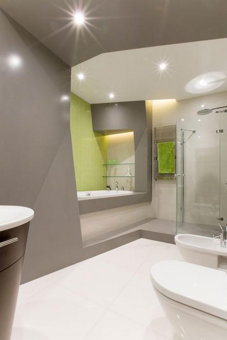 Квартира. ванная из проекта , фото №17365