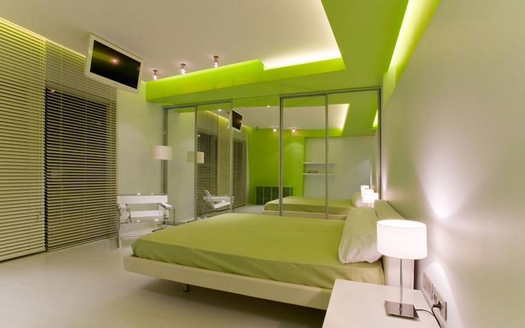 Квартира. спальня из проекта , фото №17358