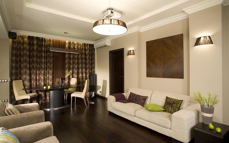 Фото № 17398 гостиная  Квартира