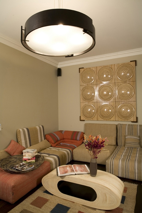 интерьер гостиной - фото № 17405