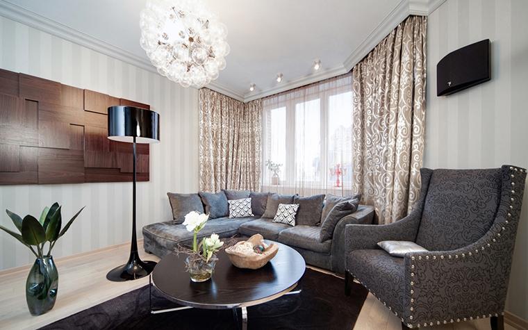 Фото № 17407 гостиная  Квартира
