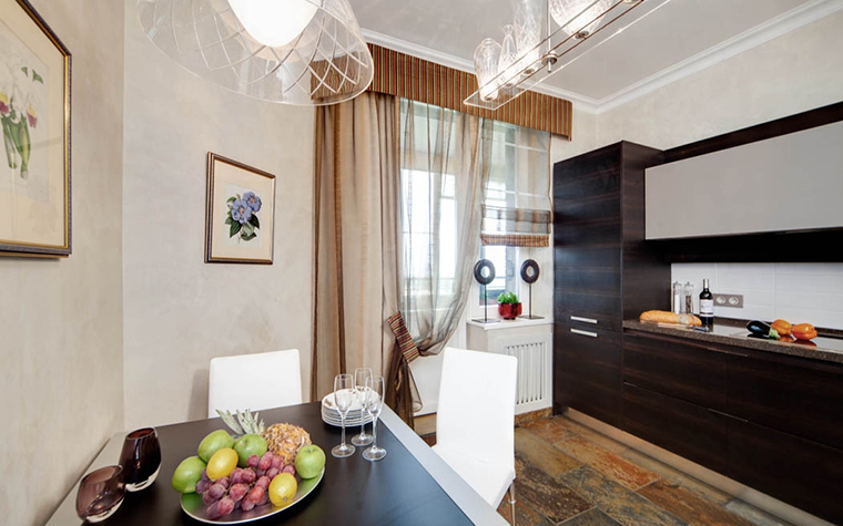 Фото № 17414 кухня  Квартира
