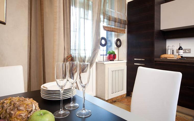 Фото № 17415 кухня  Квартира