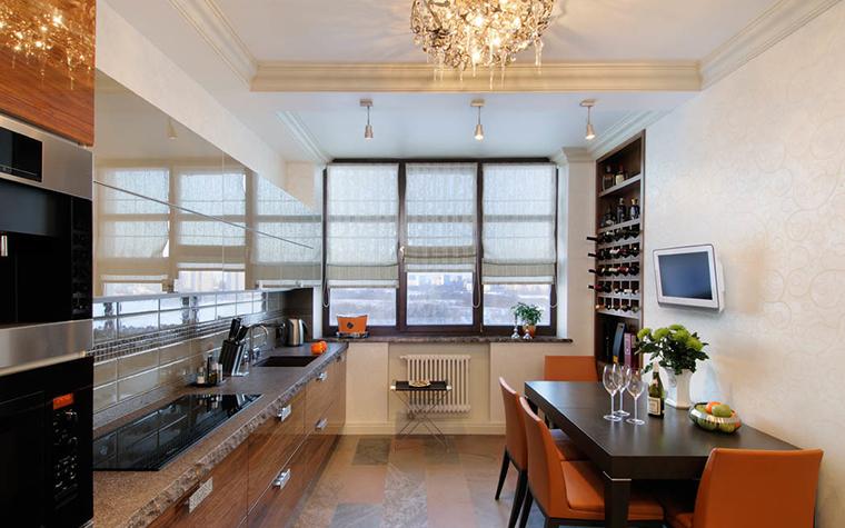 Квартира. кухня из проекта , фото №17428