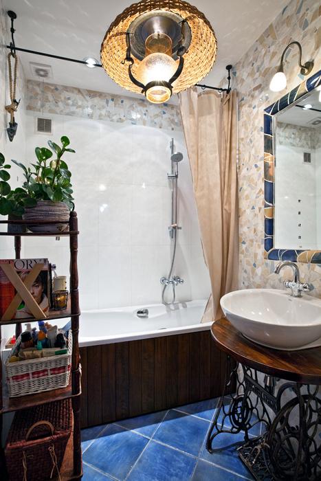 Квартира. ванная из проекта , фото №17482