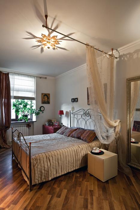 Квартира. спальня из проекта , фото №17472
