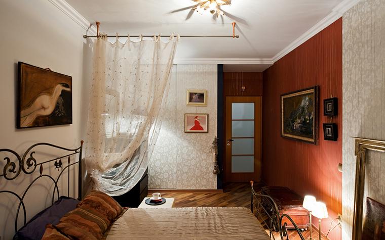 Квартира. спальня из проекта , фото №17474