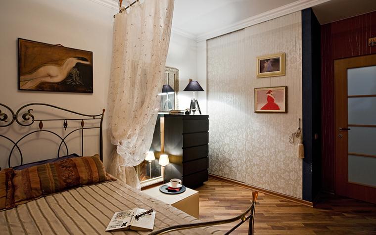 Квартира. спальня из проекта , фото №17475