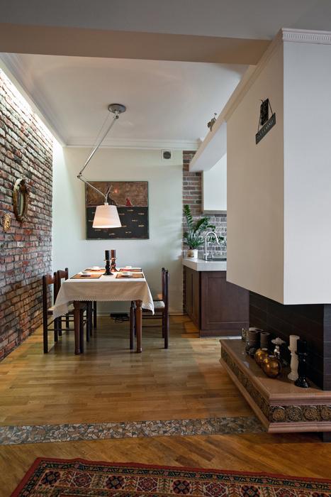 Квартира. столовая из проекта , фото №17478
