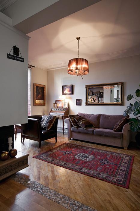 Квартира. гостиная из проекта , фото №17469