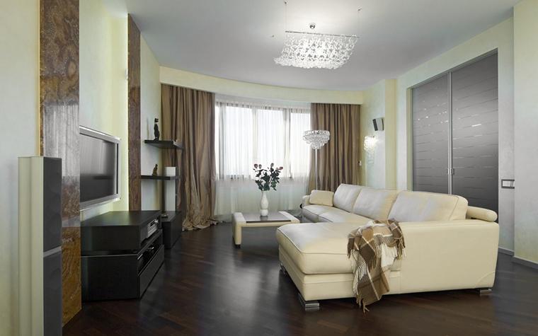 интерьер гостиной - фото № 17597