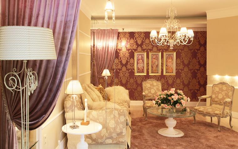 интерьер гостиной - фото № 17603